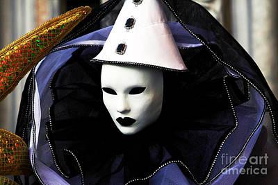 Carnevale Photograph - White by John Rizzuto