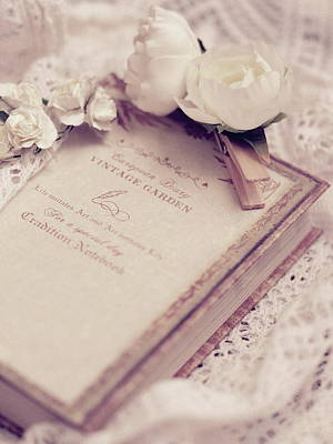 Photograph - White Lace And Promises by Rachel Mirror