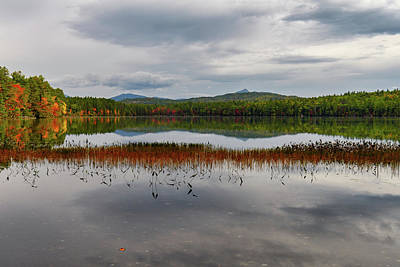 Photograph - White Lake Fall Chocorua Nh by Michael Hubley