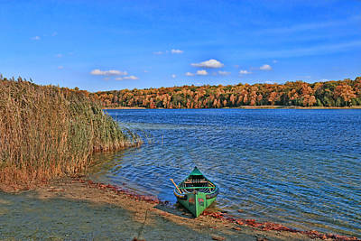 Photograph - White Lake - Warren County, N J by Allen Beatty