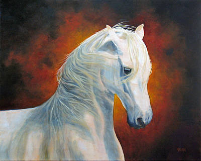 Painting - White Magic by Marina Petro