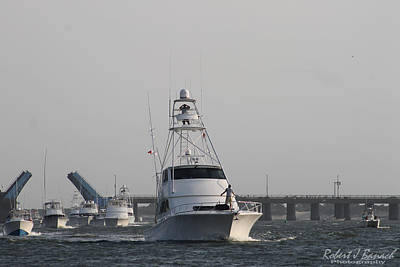 Photograph - White Marlin Open Boats by Robert Banach