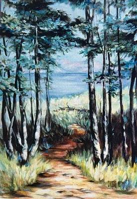 Painting - White Mountain Forest by Caroline Patrick