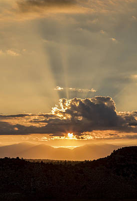Photograph - White Mountain Golden Sunrise. by Duncan Selby