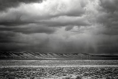 Photograph - White Mountain by Lou Novick