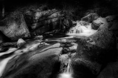 Photograph - White Mountain Stream by Bill Wakeley