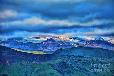Photograph - White Mountain Top by Rick Bragan