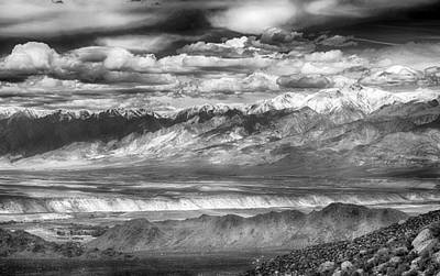 Photograph - White Mountains by AJ Schibig