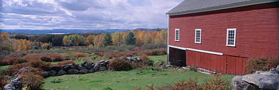 White Mountains, Autumn, New Hampshire Print by Panoramic Images