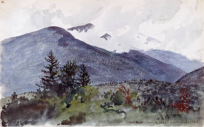 Painting - White Mountains From Fernald's Hill by Charles de Wolf Brownell