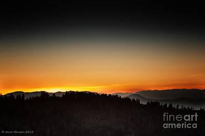Photograph - White Mountains Sunrise by Arne Hansen