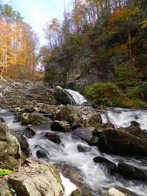 Photograph - White Oak Creek Falls by Joe Duket