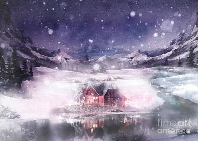 Painting - White Oasis by Mo T