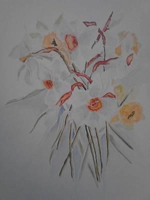 White On White Original by Denise Tanaka
