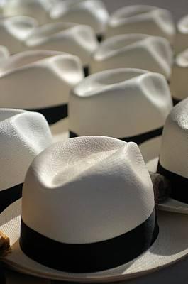 Photograph - White Panama Hat by Douglas Pike