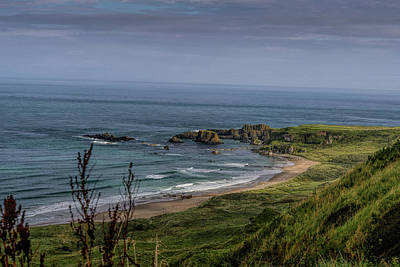 Photograph - White Park Bay Beach by Elvis Vaughn