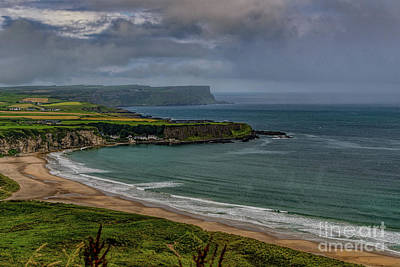 Photograph - White Park Bay by Elvis Vaughn