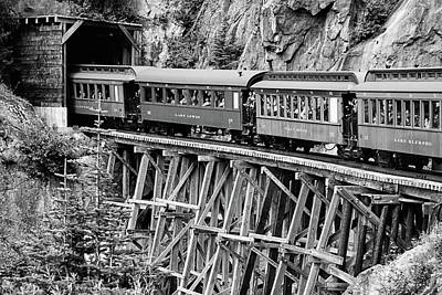 Photograph - White Pass Railway by Dawn Currie