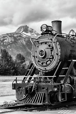 Photograph - White Pass Railway Engine 73 by Dawn Currie