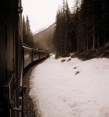 White Pass Railway Art Print