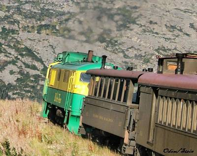 White Pass Yukon Route Railroad Art Print by Dennis Stein