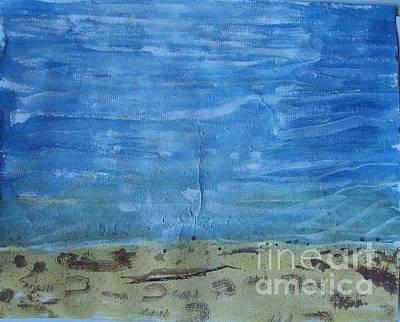 Soap Suds - White Pine Beach by Abelone Petersen