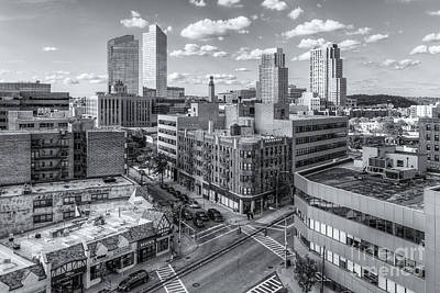 Photograph - White Plains New York Skyline Viii by Clarence Holmes