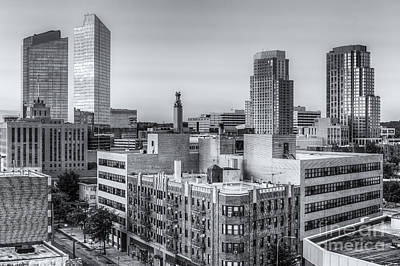 Photograph - White Plains New York Skyline X by Clarence Holmes