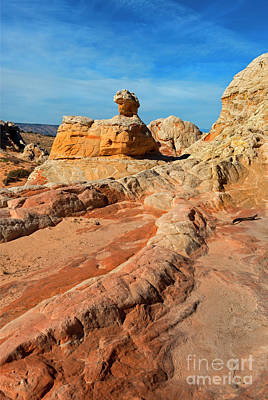 Photograph - White Pocket Hoodoo by Mike Dawson