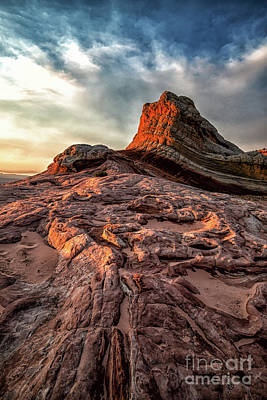 Photograph - White Pocket Inside Vermillion Cliffs National Monument by Peter Dang