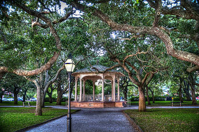 White Point Gardens Art Print