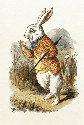 Painting - White Rabbit by John Tenniel