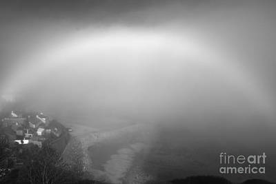 White Rainbow Art Print by Jason Christopher