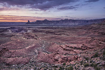 Photograph - White Rim Trail Vista by Adam Romanowicz