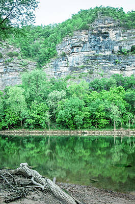 Photograph - White River, Arkansas 4 by Adam Reinhart