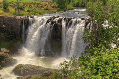 Photograph - White River Falls by Connie Cooper-Edwards