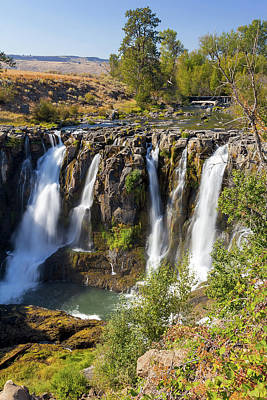 High Desert Photograph - White River Falls In Tygh Valley by David Gn