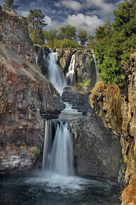 White River Falls State Park Art Print by David Gn