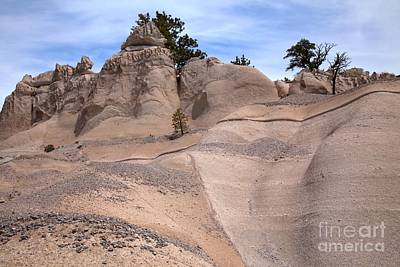 Photograph - White Rock Contours by Adam Jewell