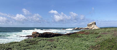 Photograph - White Rock Off Piedras Blanca Lighthouse Station by Floyd Snyder
