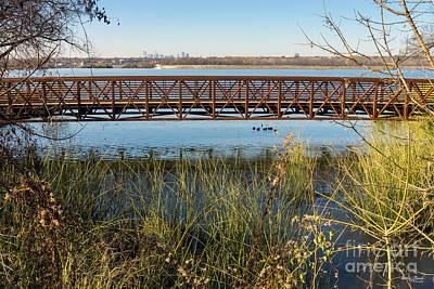 Photograph - White Rock Park Bridge by Jennifer White