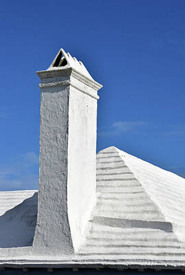 Photograph - White Roof No. 6-1 by Sandy Taylor