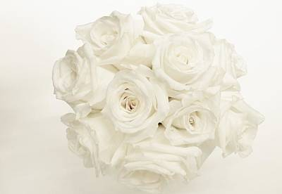 Photograph - White Roses by Amar Sheow