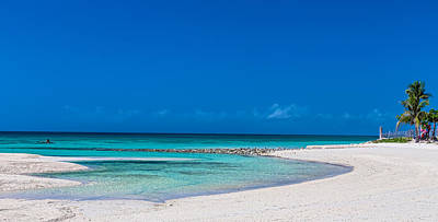 Photograph - White Sand Blue Lagoon Panorama by James BO Insogna