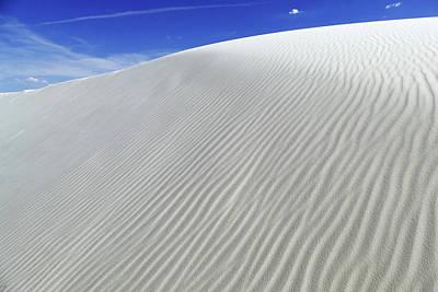 Photograph - White Sands 3 by Jeff Brunton
