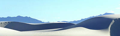 Photograph - White Sands 31 by Jeff Brunton