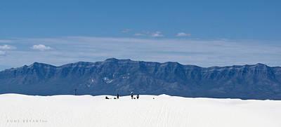Photograph - White Sands #4 Photo Shoot by Kume Bryant