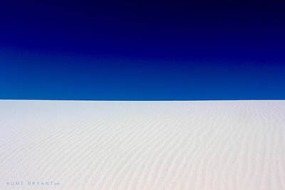 Photograph - White Sands #5 by Kume Bryant