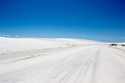 Photograph - White Sands #6 by Kume Bryant