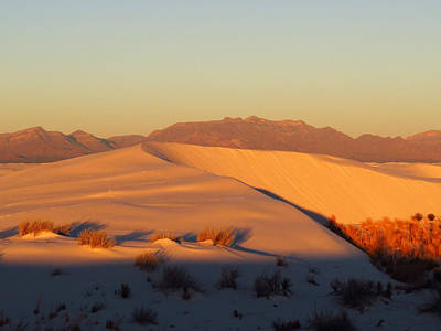 Photograph - White Sands Dawn #51 by Cindy McIntyre
